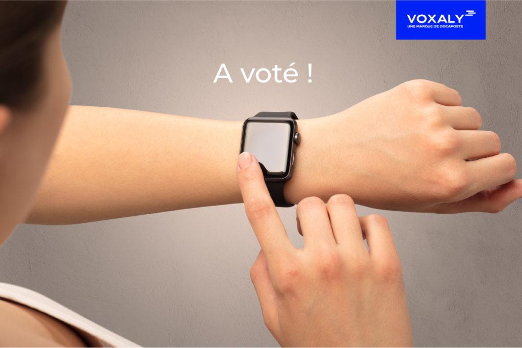 Voxaly le vote électronique