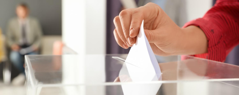 vote papier pour élections CSE avec Voxaly
